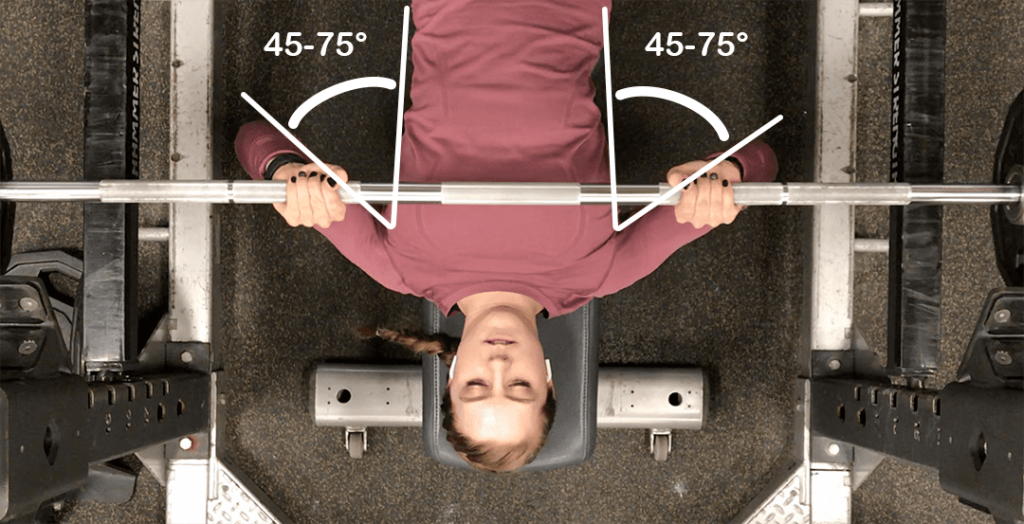 Feminine how to do Bench Press for women Arms at Angle