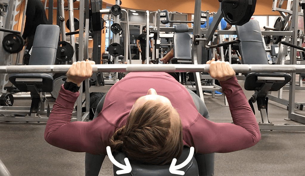 Feminine how to do Bench Press for women Low Pull Scapulae Together
