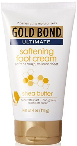Soften calluses with shea butter