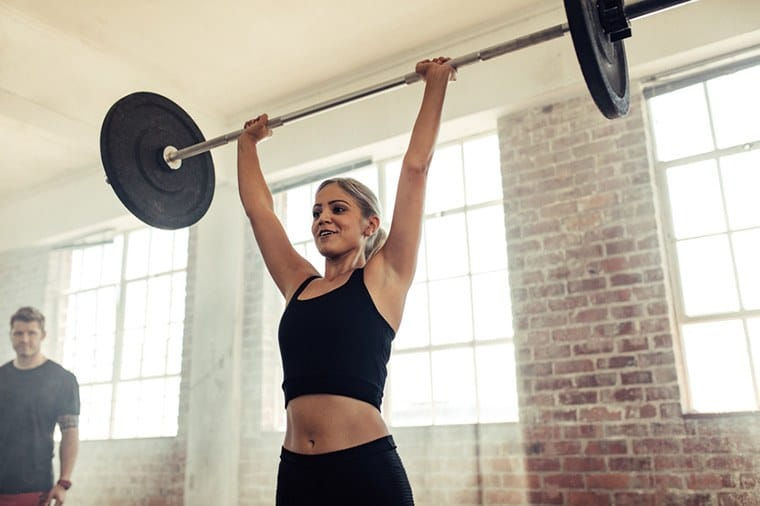 How lifting weights is beneficial to women