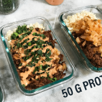 High Protein Low Carb Keto Korean Steak Bowls Meal Prep Featured Image 50g Protein
