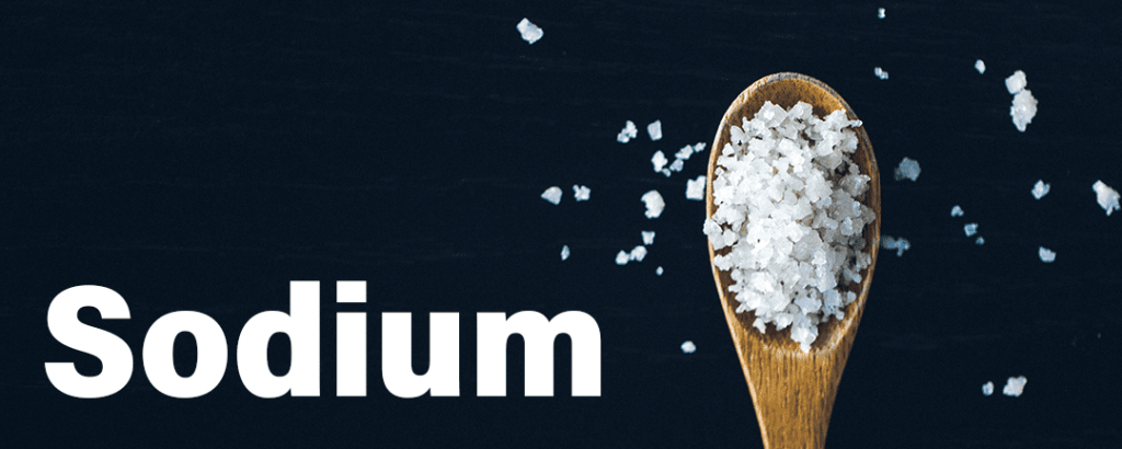 Sodium in Salt for PMS Symptoms Bloating for Weight Lifting Resistance Training Exercise