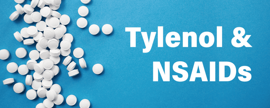 Tylenol Acetaminophen NSAIDs Aspirin Advil Ibuprofen for PMS Symptoms Breast Tenderness for Weight Lifting Resistance Training Exercise
