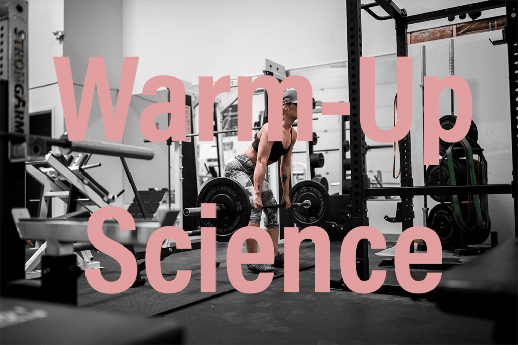 Weight Lifting Warm Up Science Featured Image Girl doing deadlift